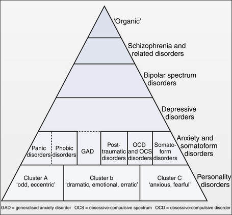 Figure 3 1 overview of psychiatric disorders adult